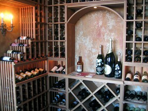 Typical Wine Cellar Phoenix AZ